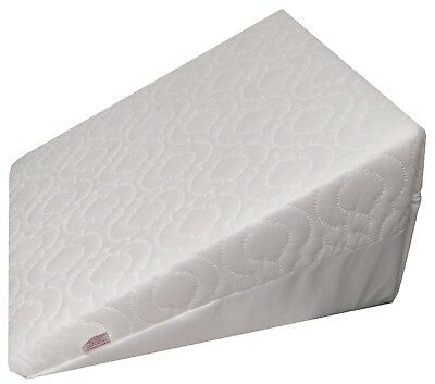 Essential Relex Foam Support Bed Wedge with Removable Washable Quilted Cover