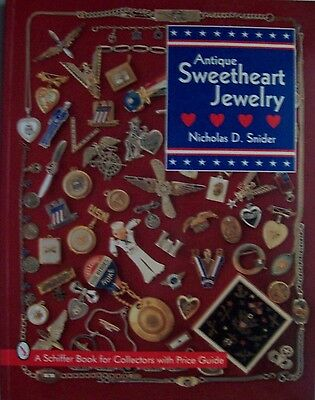 Antique Military Sweetheart Jewelry Price Guide Collector's Book
