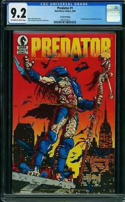 Predator #1 (CGC 9.2 NM-) (Dark Horse 1989) 1st App. in Comics! Rare 2nd Print!