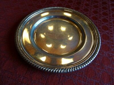 """Gorham English Gadroon Sterling Silver Bread and Butter Plate, #180; No mono; 6"""""""