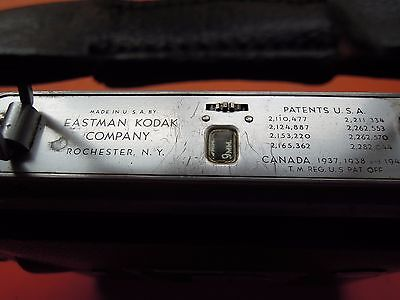 Vintage CINE-KODAK MAGAZINE 8 Movie Camera- c-1940
