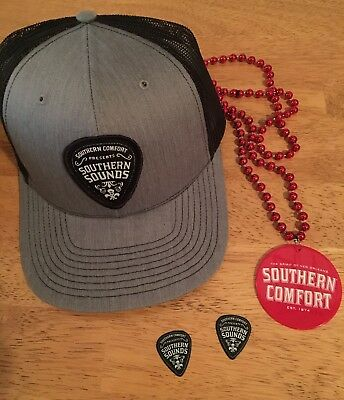Southern Comfort Southern Sounds Trucker Hat, Beads & Guitar Picks