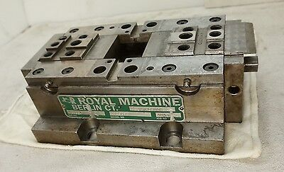 Milling Machine Vice - Dual Locking - ROYAL MACHINE And Tool ~  Precision CNC