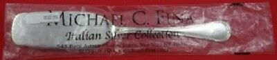 """Neoclassico By Calegaro Italy Sterling Cake Server FHAS 9 7/8"""" Retail $375 New"""