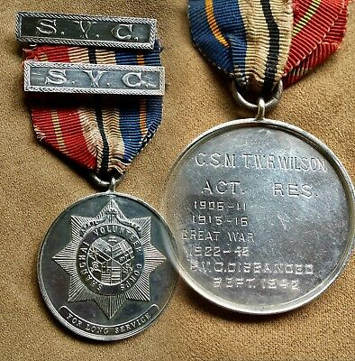China Chinese Shanghai Volunteer Corps Csm Silver Medal With 2 Bars 上海万国商团银章