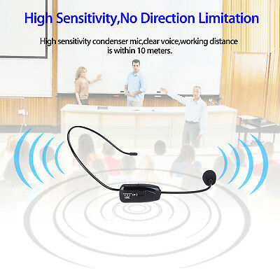 2 in 1 headset handheld 2.4G wireless microphone 3.5mm For Voice Booster Speaker