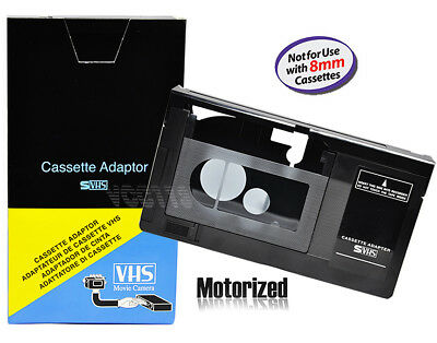Motorized VHS-C Cassette Adapter for RCA VCA115