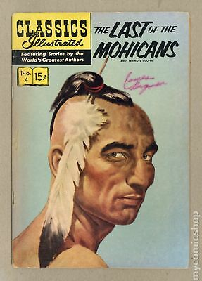 Classics Illustrated 004 The Last of the Mohicans #15 1964 VG 4.0