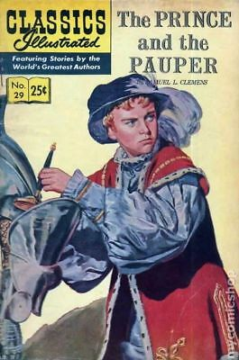Classics Illustrated 029 The Prince and the Pauper #14 1968 VG+ 4.5 Stock Image