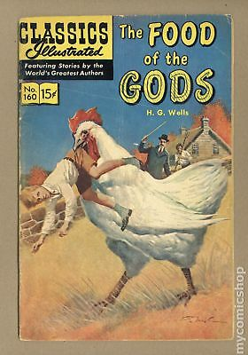 Classics Illustrated 160 The Food of the Gods 1A 1961 HRN 159 GD 2.0