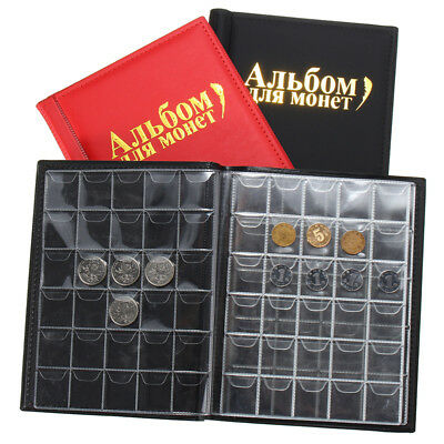 Money Penny Pockets 250 Coin Holder Collection Storage Collecting Album Book YU