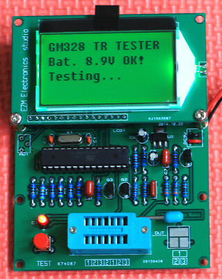 LCD Electronic Compenent GM328 Tester Transistor Diode Triode Capacitance Meter