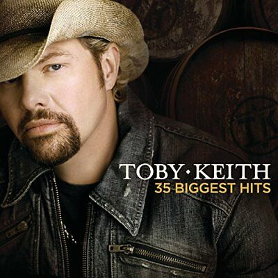 Toby Keith-35 Biggest Hits [us Import]  (UK IMPORT)  CD NEW