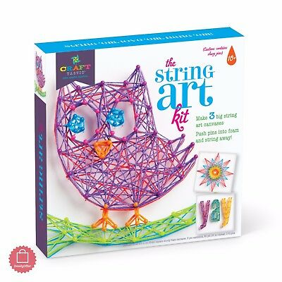 Arts And Crafts For Girls Boys Diys Kids 10 11 12 Year Old Toys String Art Kit