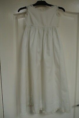 Antique Victorian Christening Gown Good condition