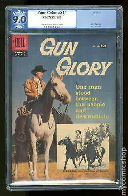 Four Color (Series 2) #846A 1957 Ad Back Cover Variant PGX 9.0