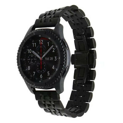Stainless Steel Bracelet Watch Strap Wristband For Samsung Gear S3 Seven Chain