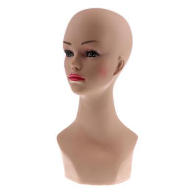 Wig Jewelry Sunglasses Hat Scarf Display Model Female Mannequin Manikin Head