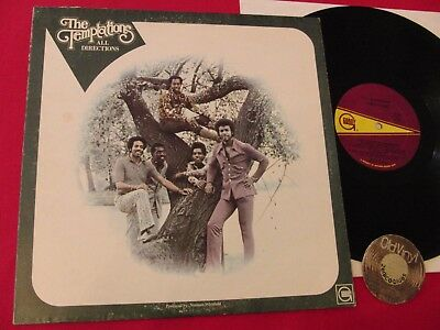 LP The Temptations All Directions USA 1972 | M- to EX