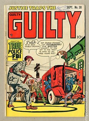 Justice Traps the Guilty #30 1951 GD 2.0