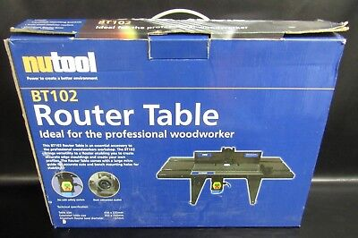 Nutool Bt102 Router Table - New In Box