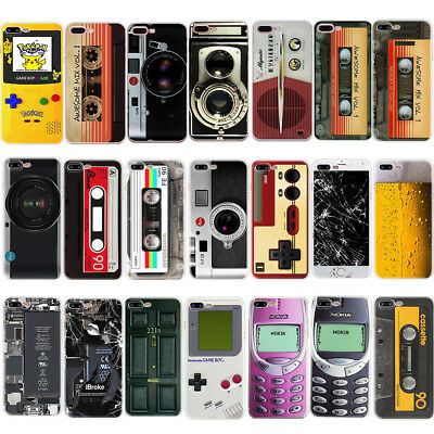 Fashion 3D Camera Game Tape Ultra TPU Etui Housse Coque pour iPhone 5 5S SE