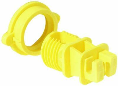 Dare Screw-Tight Electric Fence Round Post Insulator 25//Pk WESTERN-RP-25B
