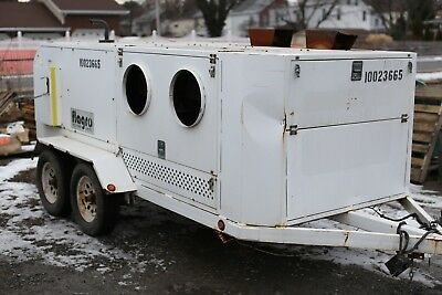 2012 Flagro FVR1000TO 790k btu portable self contained indirect heater TRAILER