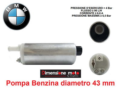 PB08 - Pompa Benzina (Fuel Pump) D-43mm per BMW R 1100 RT dal 1995 al 2002