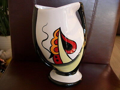 Lorna Bailey Ravensdale Abstract Vase Novelty Art Deco Unusual Collectable