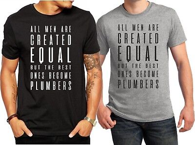 Awesome Plumber Mens T Shirt Workwear Plumbers Tools Pipe Cutter Tool Bag Gifts