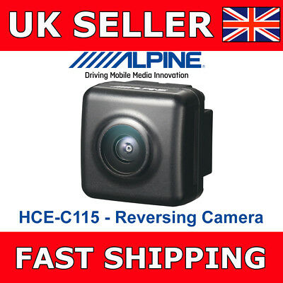 Alpine Car Van Reversing Camera HCE-C115 Rear View Camera For Screens Cheap New