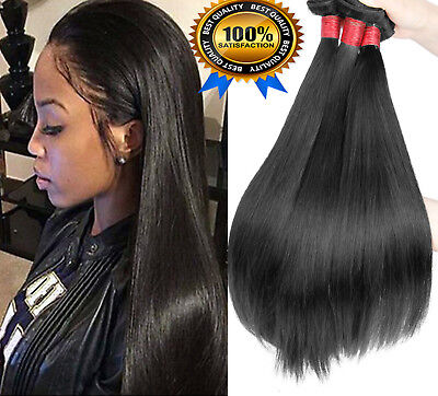 FR TISSAGE CHEVEUX DE EXTENSION BRESILIEN NATUREL REMY HAIR Vierges LA POSTE