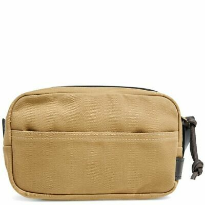 97132afcd7 Filson Water Repellent Mens Travel Kit Tan 11070218