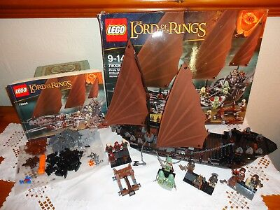 Lego 79008 Pirate Ship Ambush Incomplete Ideal For Spares Box