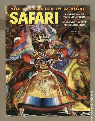 Safari Magazine #Vol. 4 #5 1957 FN- 5.5