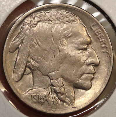 1915-D Buffalo Nickel, Choice Almost Uncirculated - Discounted  0908-22
