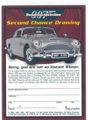 James Bond Tomorrow Never Dies Sorry You Are Not A Winner Promo Card