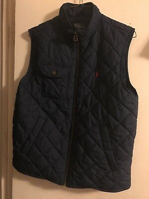 NEW KIDS BOYS Ralph Lauren Polo Sleeveless Vest L(14-16)
