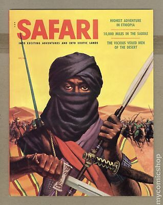Safari Magazine #Vol. 3 #6 1956 FN+ 6.5