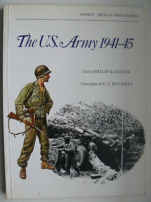 Buch The U.S. Army 1941-45, Osprey, Men at Arms Series, US Armee