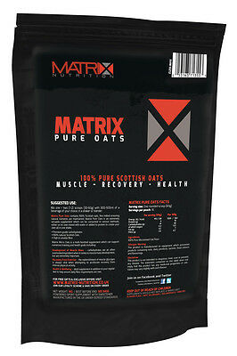 Scottish Maize Waxy Oats Carbohydrate Powder - 1Kg From Matrix Nutrition