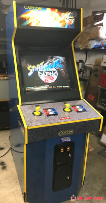 Street Fighter Alpha 2 Upright Arcade Game From Capcom Nice