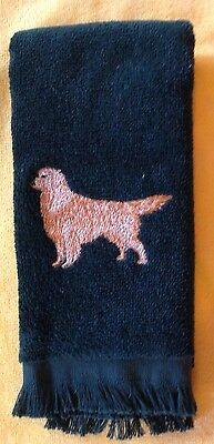 Golden Retriever  Towel, Embroidered, Custom, Personalized, Dog