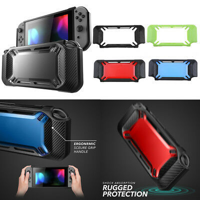 Protective Slim Rubber Hard Anti-Scratch Case Cover Shell for Nintendo Switch