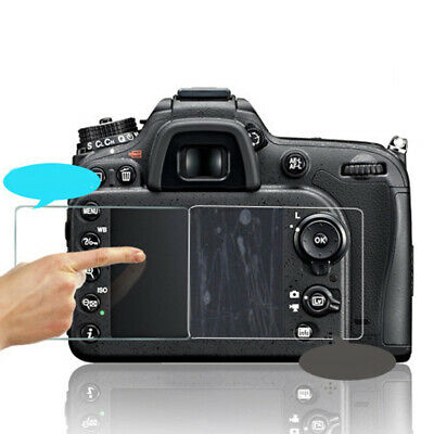 Camera Hard Tempered Glass Screen Protector Protective Cover for Canon 7D