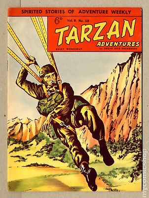 Tarzan Adventures (Westworld) UK #Vol. 9 #28 1959 FN/VF 7.0