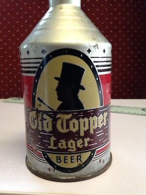 Old Topper Lager Beer Can Comb Top