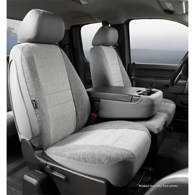 Tweed, Charcoal Fia OE39-2 CHARC  Custom Fit Front Seat Cover Bench Seat