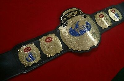 wcw world tag team championship custom leather belts